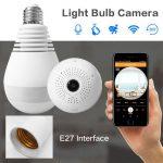 خرید دوربین به شکل لامپ مخفی