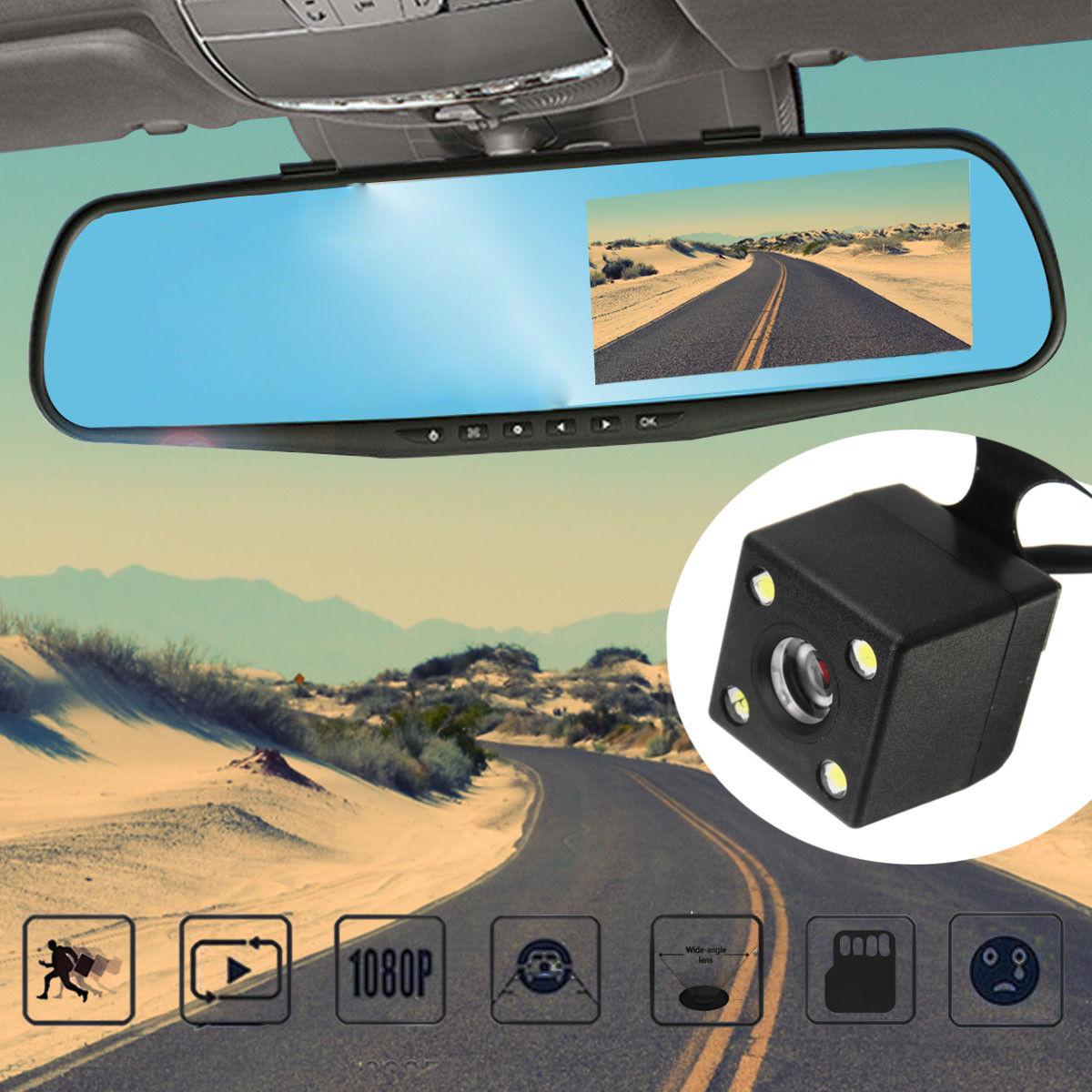 فروش دوربین دنده عقب خودرو + مانیتور آینه ای