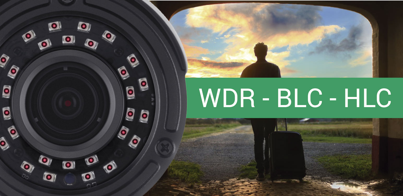 انواع دوربین مداربسته با قابلیت wdr