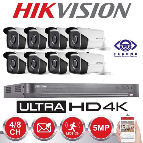 قیمت دستگاه ضبط دوربین مداربسته 8 کاناله 4K