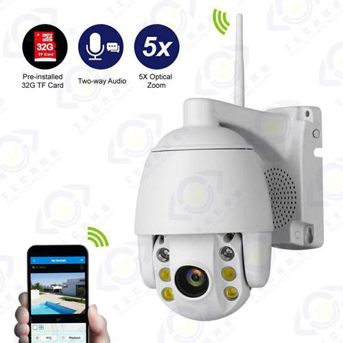 خرید دوربین مدار بسته کنترل از راه دور چرخشی