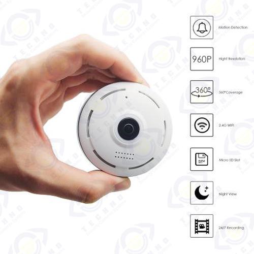 فروش دوربین مداربسته فیش آی پانوراما خیلی کوچک