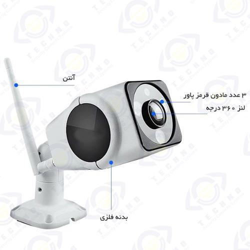 قیمت دوربین مداربسته وای فای