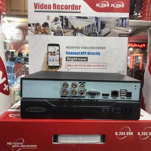 قیمت خرید دستگاه ضبط دوربین مداربسته 4 کاناله