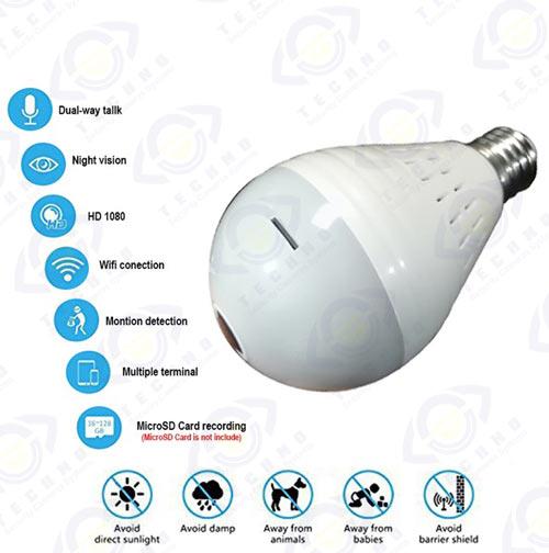 خرید لامپ دوربین دار