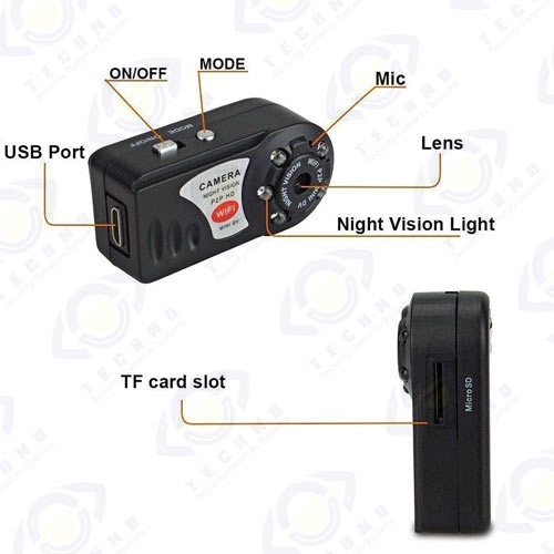 قیمت دوربین مخفی q7
