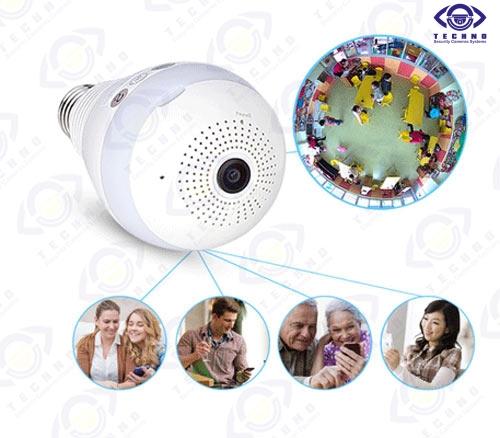 قیمت دوربین مخفی لامپی